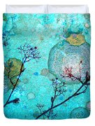 The Branches And The Moon Duvet Cover