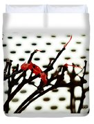 The Branches Naked By Wind And Rain. Duvet Cover