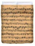 The Brandenburger Concertos Duvet Cover