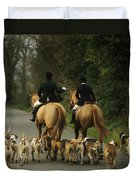 The Bray Harriers, Co Wicklow, Ireland Duvet Cover