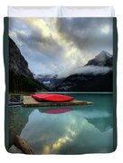 The Breathtakingly Beautiful Lake Louise II Duvet Cover