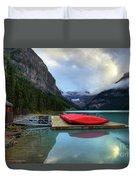 The Breathtakingly Beautiful Lake Louise IIi Duvet Cover