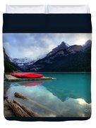 The Breathtakingly Beautiful Lake Louise Iv Duvet Cover