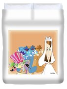 The Bridal Party Duvet Cover
