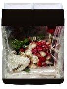 The Bride's Bouquet Duvet Cover