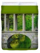 The Bridge Across The Pond Duvet Cover