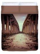 The Bridge II Duvet Cover