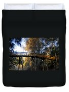 The Bridge In My Dreams Duvet Cover
