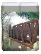 The Bridge To Home Duvet Cover