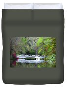 The Bridges In Magnolia Gardens Duvet Cover