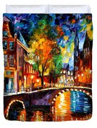 The Bridges Of Amsterdam Duvet Cover