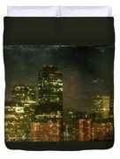 The Bright City Lights Duvet Cover