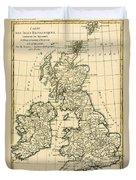 The British Isles Duvet Cover