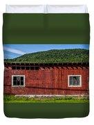 The Broadside Of A Barn Duvet Cover