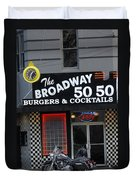 The Broadway 50 50 Duvet Cover