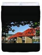 The Broadway Bridge Duvet Cover