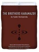 The Brothers Karamazov Greatest Books Ever Series 015 Duvet Cover