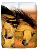 The Buckskins Duvet Cover