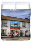 The Bull Pub Theydon Bois Panorama Duvet Cover