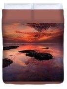 The Burning Cloud Duvet Cover