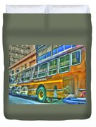 The Bus Duvet Cover