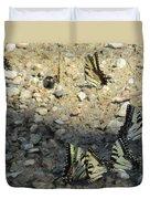 The Butterfly Dance Duvet Cover