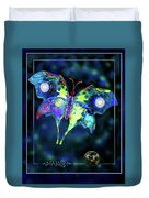 The Butterfly Mission Duvet Cover