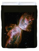 The Butterfly Nebula Duvet Cover by Stocktrek Images