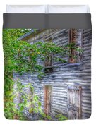 The Button House Duvet Cover