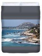 The Cabo Coast Duvet Cover