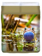 The Calling Frog Duvet Cover