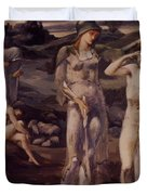The Calling Of Perseus 1898 Duvet Cover