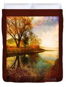 The Calm By The Creek Duvet Cover