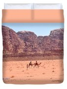 The Camel Riders Duvet Cover