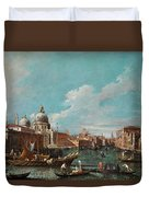The Cannament Of The Great Canal Duvet Cover