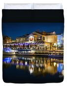 The Cannery Restaurant Duvet Cover
