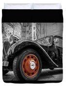 The Car Duvet Cover