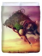 The Carnival Is Over Duvet Cover
