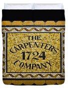 The Carpenters Company Duvet Cover
