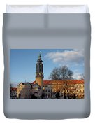 The Castle - Weimar - Thuringia - Germany Duvet Cover