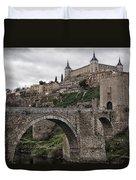 The Castle And The Bridge Duvet Cover