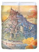 The Castle Duvet Cover