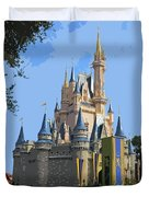 The Castle Duvet Cover