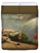 The Catching-house Duvet Cover