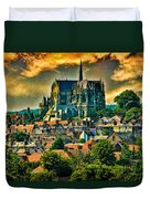 The Cathedral At Arundel Duvet Cover