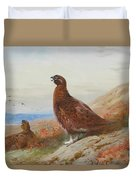 The Challenge By Thorburn Duvet Cover