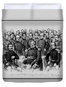 The Champions Of The Union -- Civil War Duvet Cover