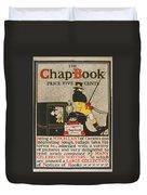 The Chap Book Duvet Cover