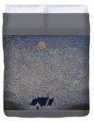 The Chapel On The Loch Duvet Cover