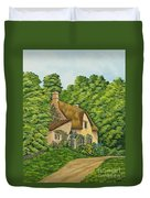 The Charm Of Wiltshire Duvet Cover